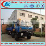 dongfeng 8x4 truck with loading crane,log truck with crane,truck with crane