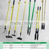 China factroy sale various farming tools hand tools post hole digger with fiberglass and wood handle with custom logo