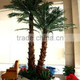 decorative home decor 4m tall artificial palm tree decorative garden used wholesale fake plastic curved coconut tree EYZS20