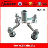 Stainless Steel Structural Glass Curtain Walls Fittings Glass Spider