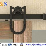 sliding barn door hardware  for wood doors 6008