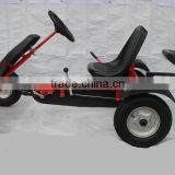 two seat adult pedal go kart F160AB