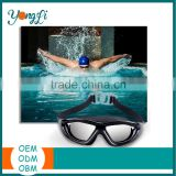 Wholesale No Leaking Anti Fog Triathlon Children Swim Goggles Clear Silicone Swimming Goggles