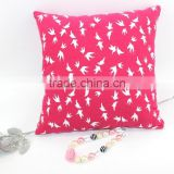 Cute Soft Bird Pattern Sofa Pillow Home Textile Body Pillows