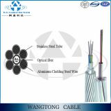 OPGW cable aerial stranded power transmisson line Optical Fiber Composite Overhead Ground Wire Fiber Optic Cable