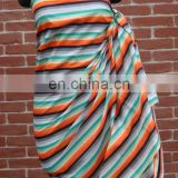 100% Cotton Printed Sarong for Promotion & Retail Sale