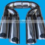 Stainless Steel Muffler Tip Exhaust Tail Pipe for Audi