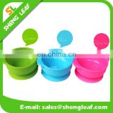 Silicone kids bowl with skid resistance for food bowl