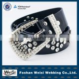 Mens decorative beaded belt