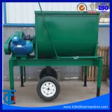 Organic Fertilizer Horizontal Mixer in Production Line