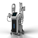 Work simultaneously 4 size cryo handle fat freezing cryolipolysis slimming machine