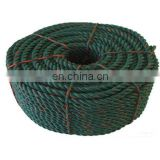 Good Quality Three Stranded 100% Polyester Rope(SW-107)