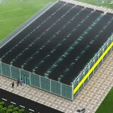 Large Size Multispan Glass Greenhouse for Agriculture Planting
