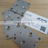 zinc plated precision 3mm carbon steel punching parts stamping metal parts export to Canada
