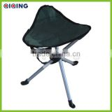 Three legs folding stool,promotional camping seat HQ-6002D                                                                         Quality Choice
