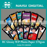 INQUIRY about Resin coating glossy waterproof photo paper 270gsm
