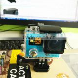 "0.95"" OLED Front Screen 2.0"" LCD Back Screen Dual Screen 4K(3840*2160) Action Camera H3 with WiFi Remote Controlling Via APP"