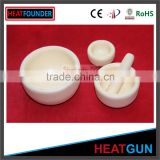 HIGH QUALITY ALUMINA MORTAR WITH PESTLE IN STOCK