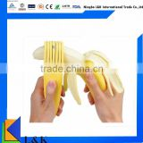 Plastic banana chips cutter,banana slicer