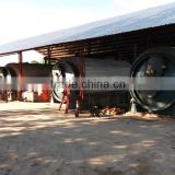 Environmental protection waste plastic oil plant tyre recycling plant pyrolysis oil equipment for sale