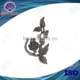 Hot Sale Customized Wrought Iron Flowers And Leaves