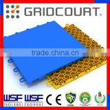 Gridcourt badminton court flooring/surface