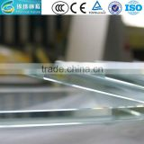 Residential Building 12mm Low Iron Tempered Glass