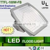 UL,anti explosive light,Explosion-proof led canopy lights,100w gas station led canopy lights