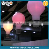 2015 new inflatable decorative hanging lamp for fashion show stage decorations/ceiling decoration