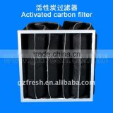 HOT SALE Activated carbon bag filter for air conditioner,activated carbon pocket filter ( factory)