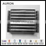 AURON/HEATWELL ss 316l electric AC heat exchange pipes/ss 316L AC finned heat exchange pipes/ss heat exchange board bellow pipes