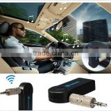 Hot Selling Portable Mini Handsfree Auto Music Receiver Adapter Car Home Stereo Audio 3.5mm Wireless Bluetooth