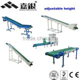 2014 CE hot sale mini energy-saving conveyor/Customized Adjustable Height Inclined Movable Belt Conveyor/Conveying equipment