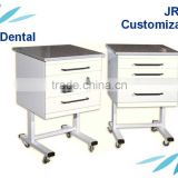 mobile dental cart cabinet