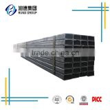 China Square hollow steel pipe/ tube manufacturing hot dipped galvanized square steel pipe