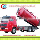 Sinotruck 6x4 liquid suction truck , liquid suction truck for sale , waste water suction truck