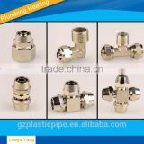 new arrive elbow and shoulder protector oem brass pipe elbow underfloor heating pipe fittings brass male thread elbow