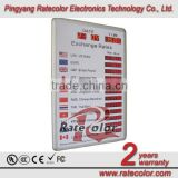 1 inch 7 segment LED digits PC control Currency exchange rate display board
