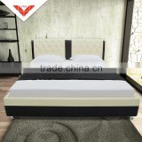 King size B826 modern with crystal headboard bed desgin