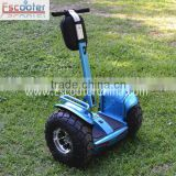 2015 Arrival 2 wheel self balance electric chariot with lithium battery operated scooter for rental