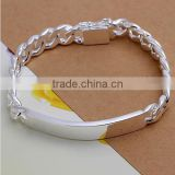 925 Jewelry Silver Plated Jewelry Bracelet Fine Fashion