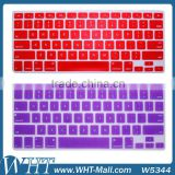 Silicone Cover for Macbook Keyboard Colorful Cover for Macbook Air/ Pro/ Pro Retina Wholesale
