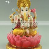 Small size hindu gods marble ganesha statue for wedding gifts                                                                         Quality Choice