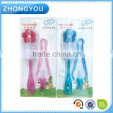 Convenient and Practical Baby Milk Bottle Nipple Teapot Nozzle Spout Tube Teat Cleaning Brush Set