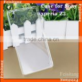 Cell accessories for Sony Xperia z3 l55t Transparent back cover