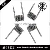 Fused clapton/eagle/ twisted/transformer coil wire THC most popular selling coil wire best quality fast heating