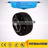electric skateboard wheel hub motor with single shaft
