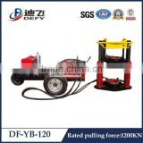Pulling machine tube drawing bench helpful in drilling