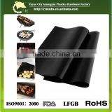 grill mat Used for indirect cooking on gas, charcoal, and electric grills
