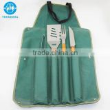 Best wholesale bbq apron with grill tools set package